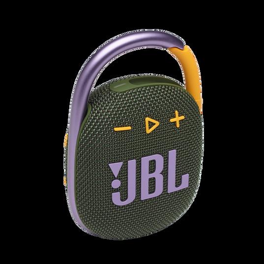 JBL CLIP 4 - Green - Ultra-portable Waterproof Speaker - Hero