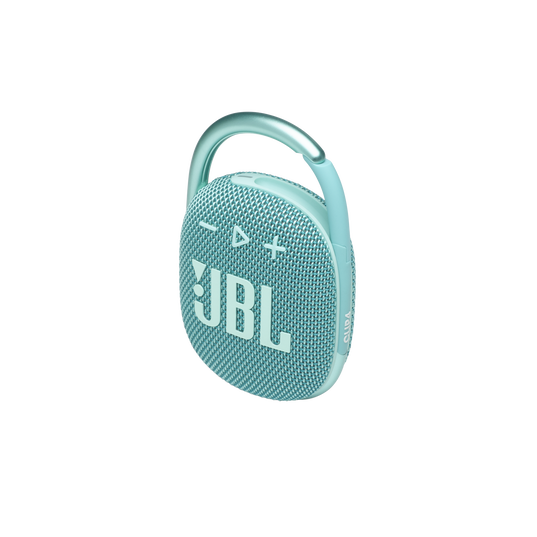 JBL CLIP 4 - Teal - Ultra-portable Waterproof Speaker - Detailshot 2