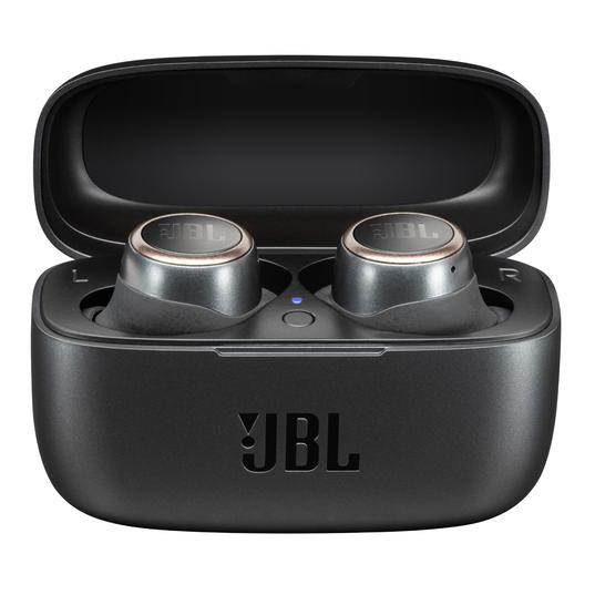 JBL Live 300TWS - Black - True wireless in-ear headphones with Smart Ambient - Hero