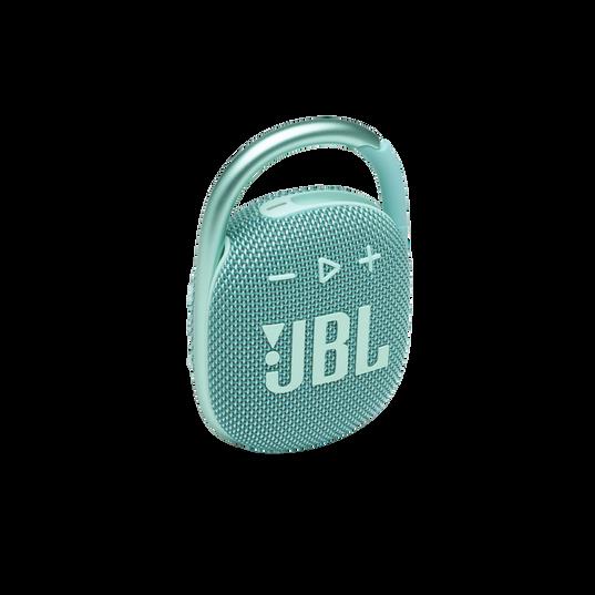 JBL CLIP 4 - Teal - Ultra-portable Waterproof Speaker - Hero