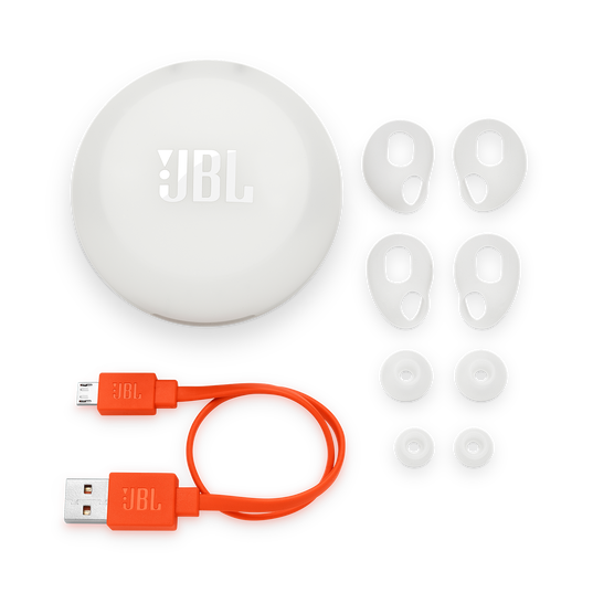 JBL Free X - White - True wireless in-ear headphones - Detailshot 3