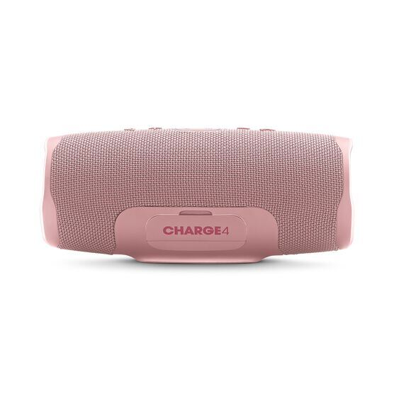 JBL Charge 4 - Pink - Portable Bluetooth speaker - Back