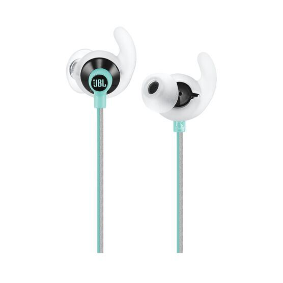 JBL Reflect Fit - Teal - Heart Rate Wireless Headphones - Detailshot 1