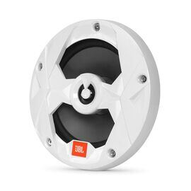 "Club Marine MS65LW - White Gloss - Club Marine MS65LW—6-1/2"" (160mm) two-way marine audio multi-element speaker with RGB lighting – White - Hero"