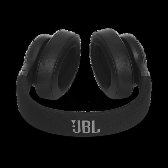 JBL E55BT - Black - Wireless over-ear headphones - Detailshot 3