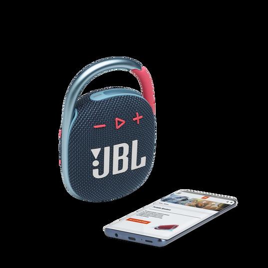 JBL CLIP 4 - Blue / Pink - Ultra-portable Waterproof Speaker - Detailshot 2