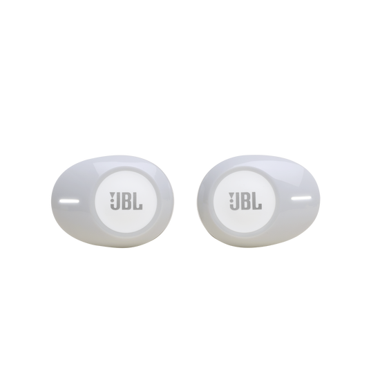 JBL Tune 120TWS - White - True wireless in-ear headphones. - Front