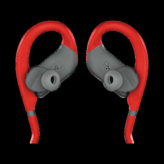 JBL Endurance DIVE - Red - Waterproof Wireless In-Ear Sport Headphones with MP3 Player - Detailshot 1