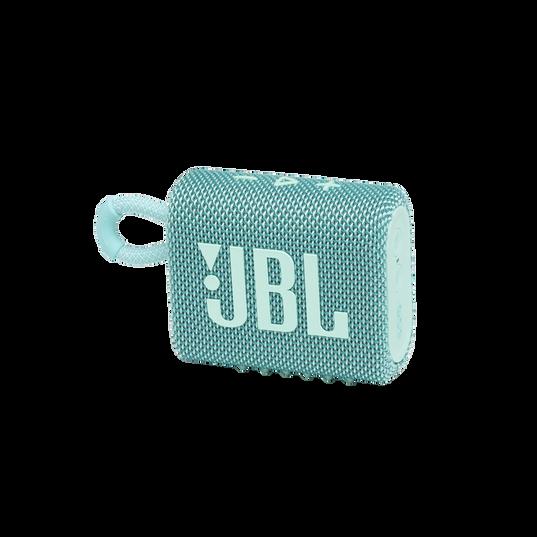 JBL GO 3 - Teal - Portable Waterproof Speaker - Hero