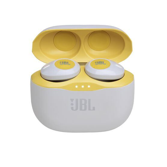 JBL TUNE 120TWS - Yellow - Truly wireless in-ear headphones. - Detailshot 2