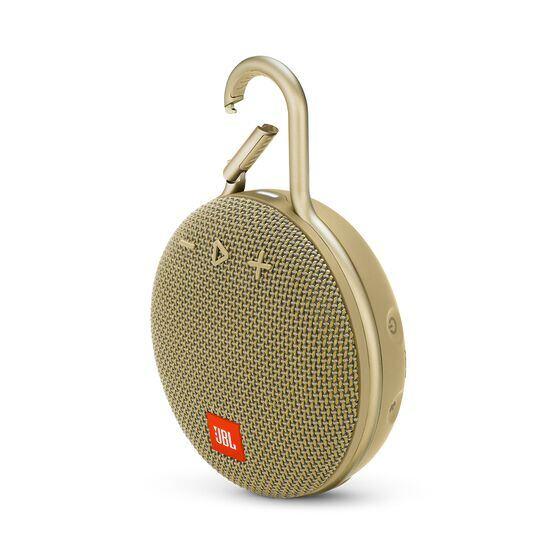 JBL CLIP 3 - Desert Sand - Portable Bluetooth® speaker - Hero