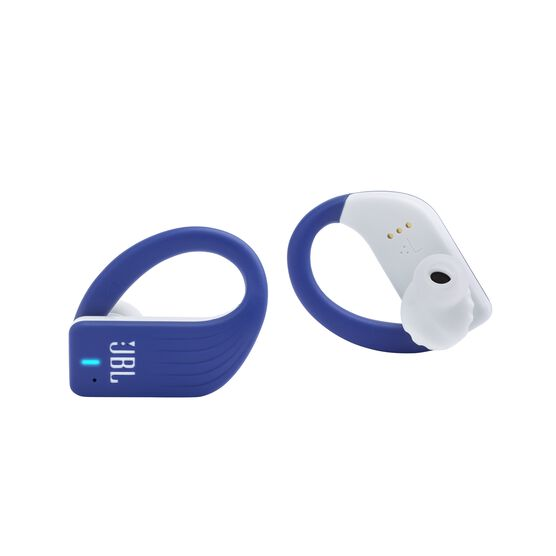JBL Endurance PEAK - Blue - Waterproof True Wireless In-Ear Sport Headphones - Detailshot 1
