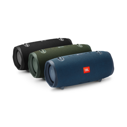 JBL Xtreme 2 - Ocean Blue - Portable Bluetooth Speaker - Detailshot 3
