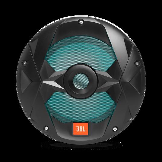 "Club Marine MS10LB - Black Matte - Club Marine MS10LB—10"" (250mm) marine audio multi-element subwoofer with RGB lighting – Black - Detailshot 5"