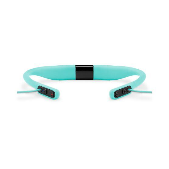 JBL Reflect Fit - Teal - Heart Rate Wireless Headphones - Detailshot 2