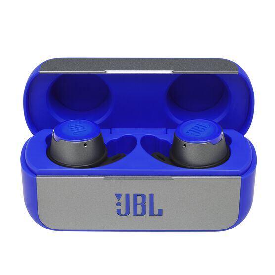 JBL REFLECT FLOW - Blue - True wireless sport headphones. - Hero