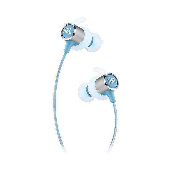 JBL REFLECT MINI 2 - Teal - Lightweight Wireless Sport Headphones - Detailshot 2