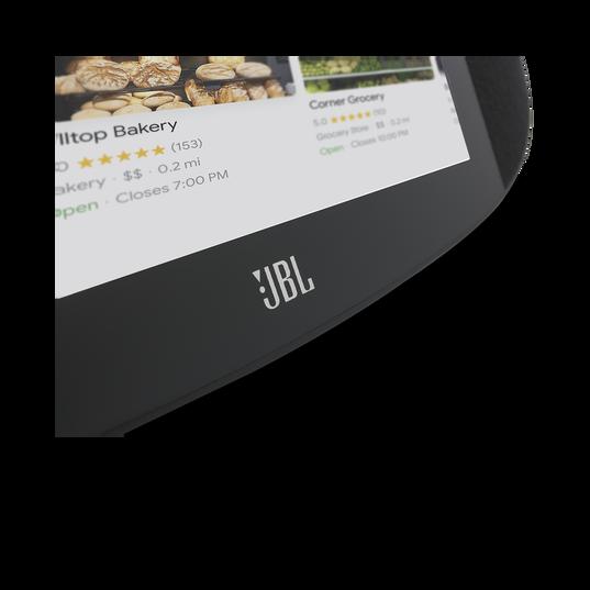 JBL LINK VIEW - Black - JBL legendary sound in a Smart Display with the Google Assistant. - Detailshot 2