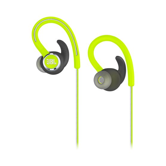 JBL Reflect Contour 2 - Green - Secure fit Wireless Sport Headphones - Detailshot 2