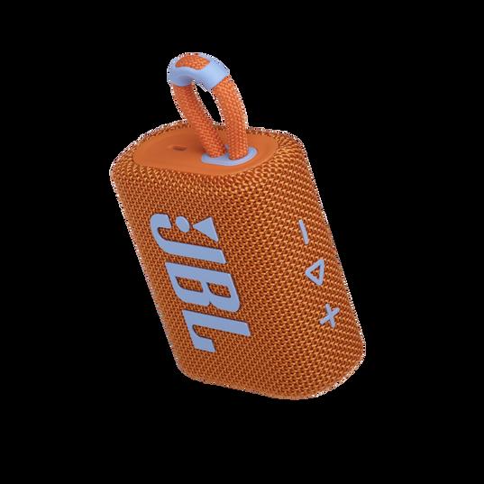 JBL GO 3 - Orange - Portable Waterproof Speaker - Detailshot 2