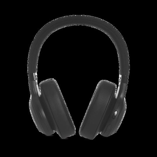 JBL E55BT - Black - Wireless over-ear headphones - Detailshot 4