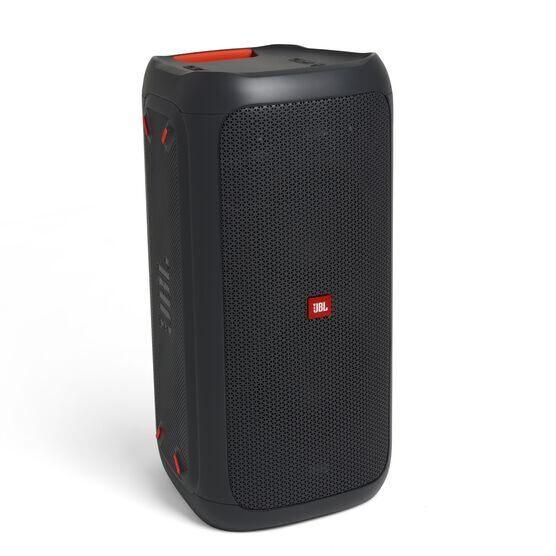 China:- - Black - Powerful portable Bluetooth party speaker with dynamic light show - Detailshot 1