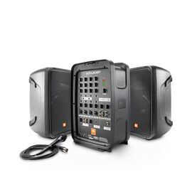 JBL EON208P - Black - Portable 8 in. 2-Way PA with Powered 8-Channel Mixer and Bluetooth® - Hero