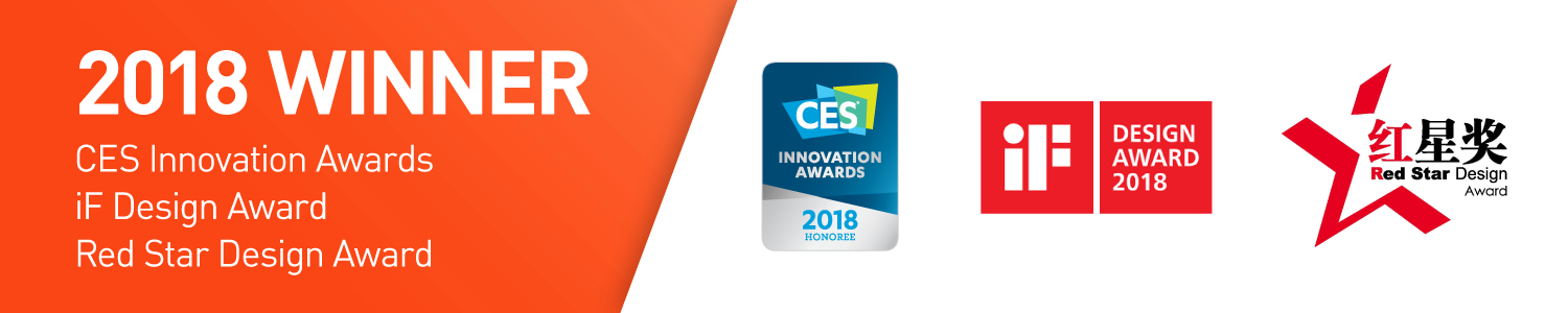 CES, iF & RedStar Awards
