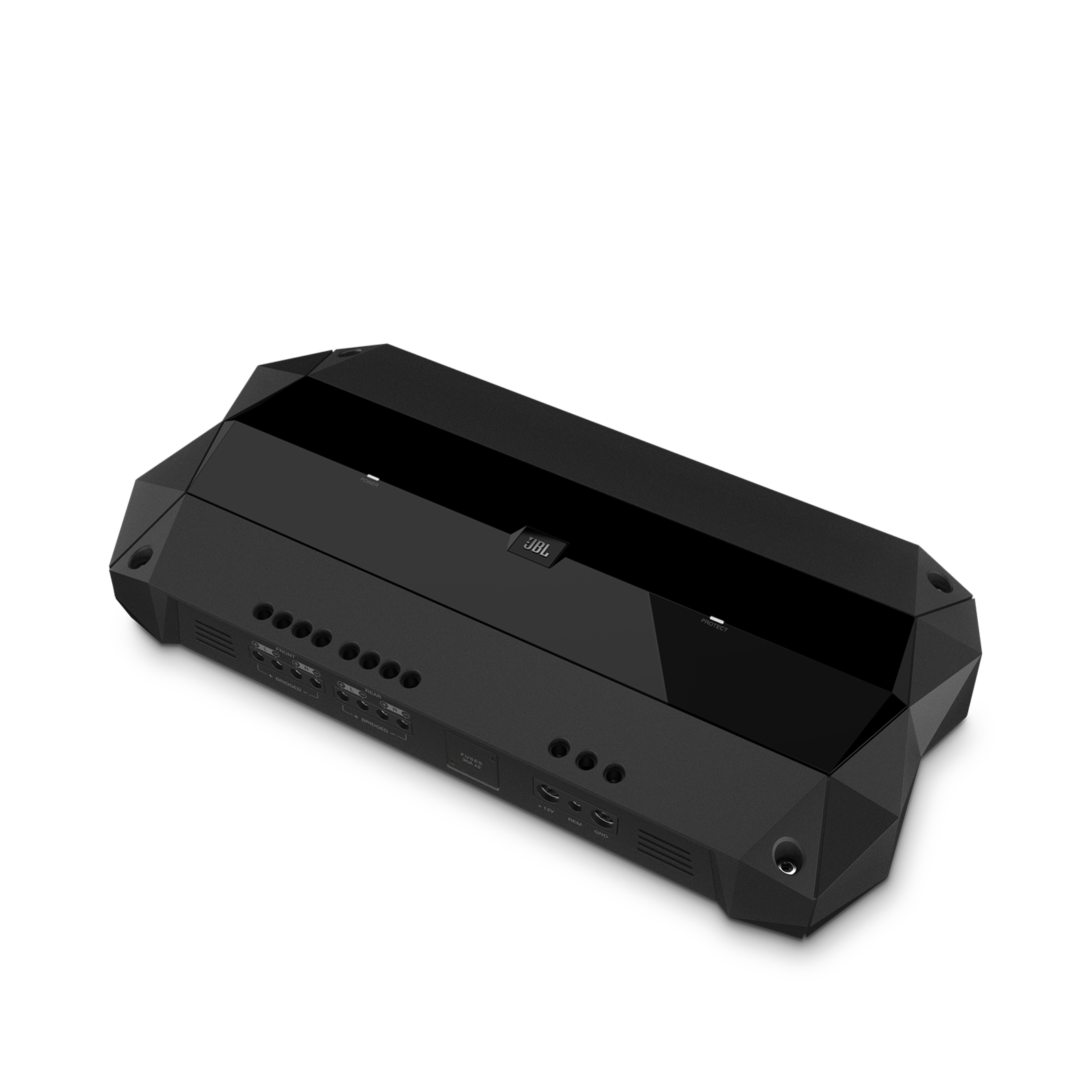Club 704 - Black - high-performance 4-channel car amplifier - Hero