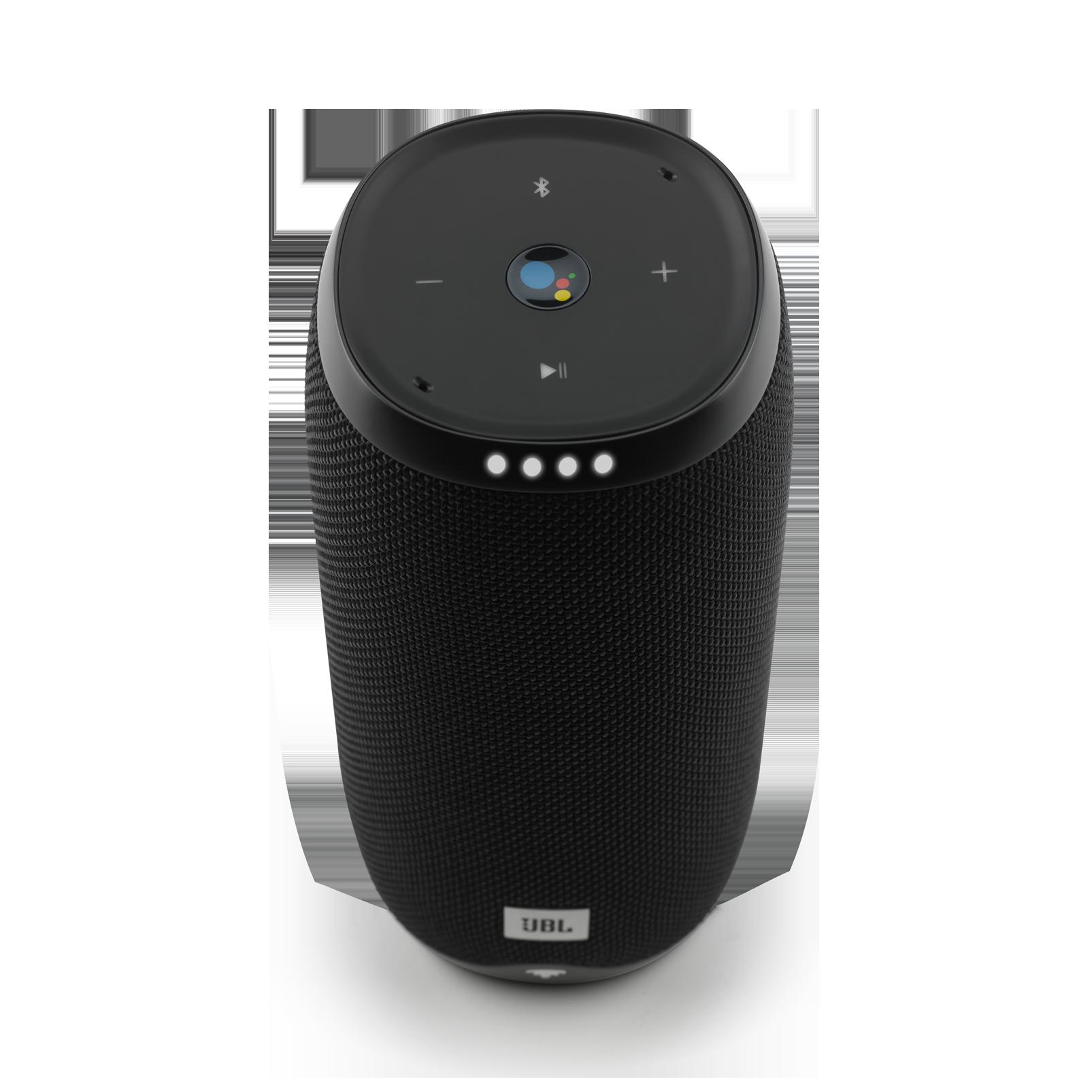 JBL Link 20 - Black - Voice-activated portable speaker - Detailshot 1