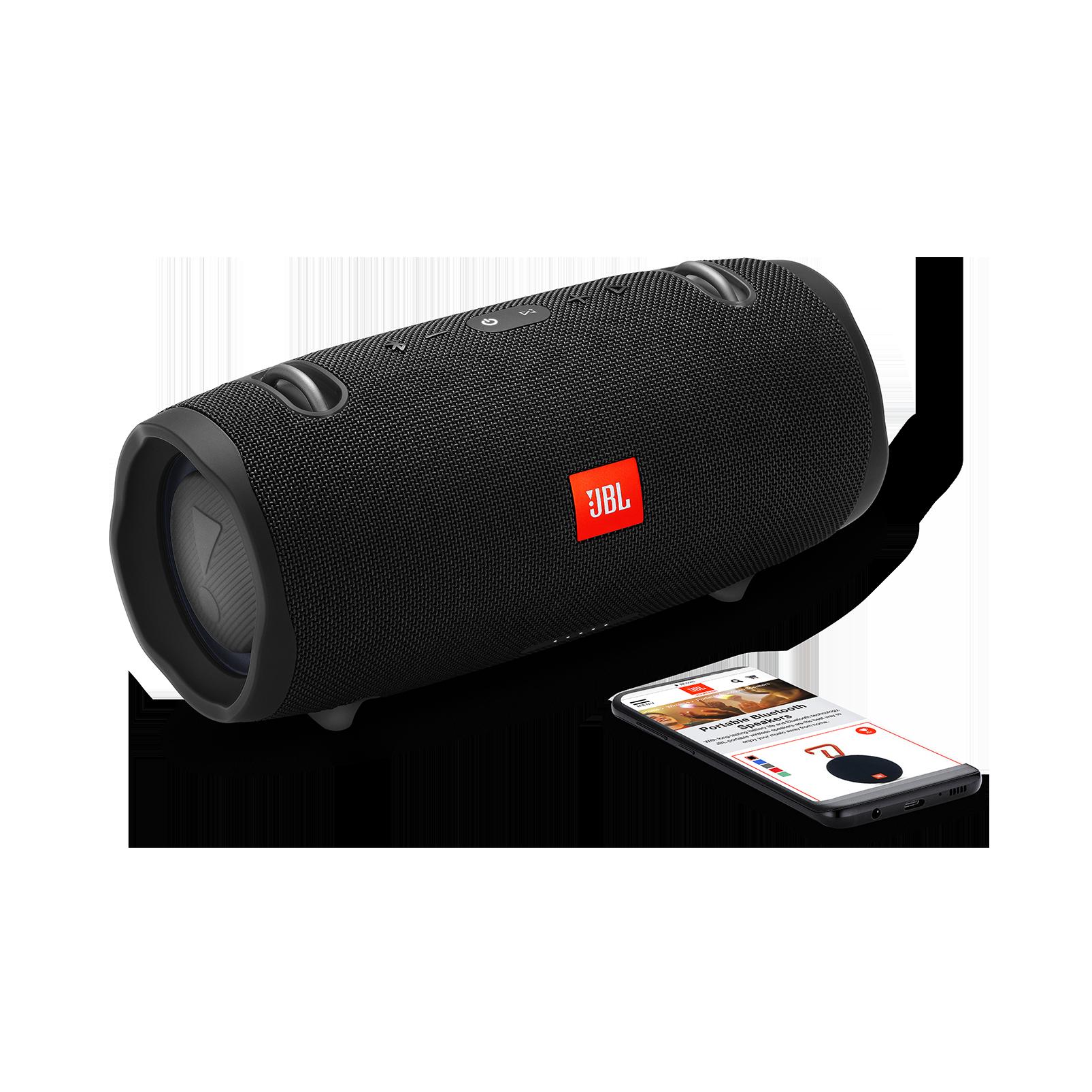 JBL Xtreme 2 - Midnight Black - Portable Bluetooth Speaker - Detailshot 1