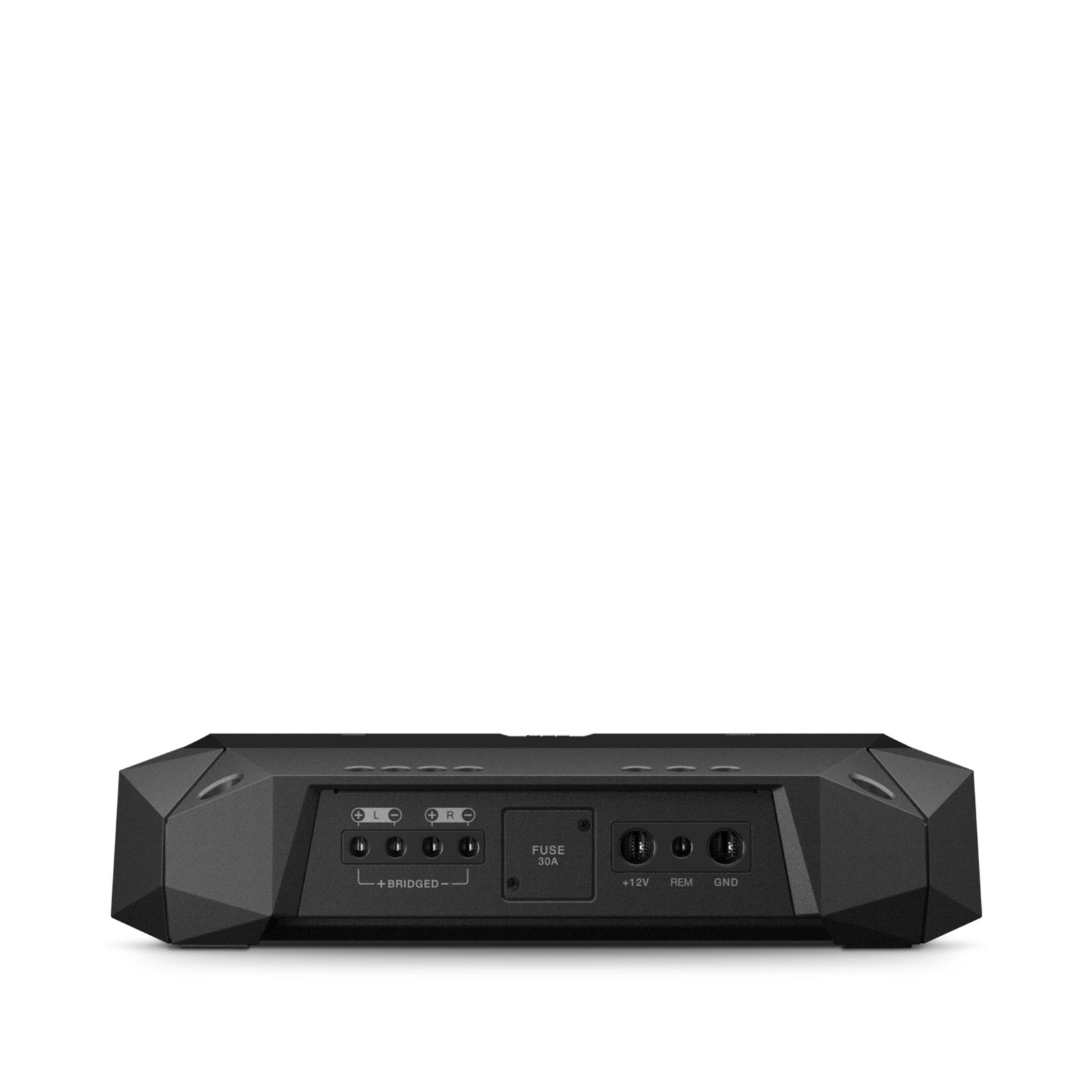 Club 5501 - Black - high-performance mono car amplifier - Front
