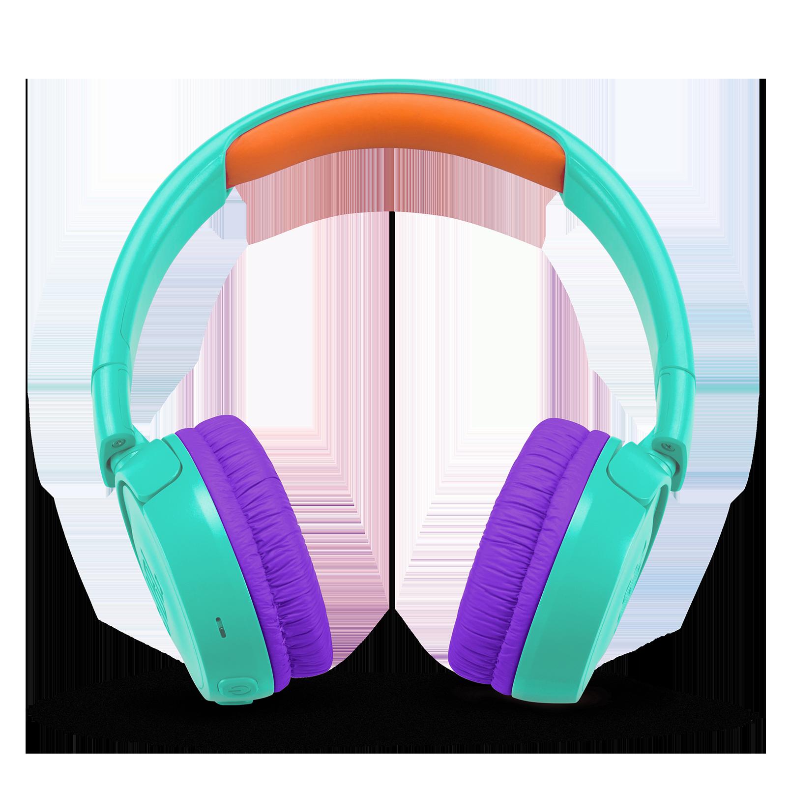 JBL JR300BT - Tropic Teal - Kids Wireless on-ear headphones - Front