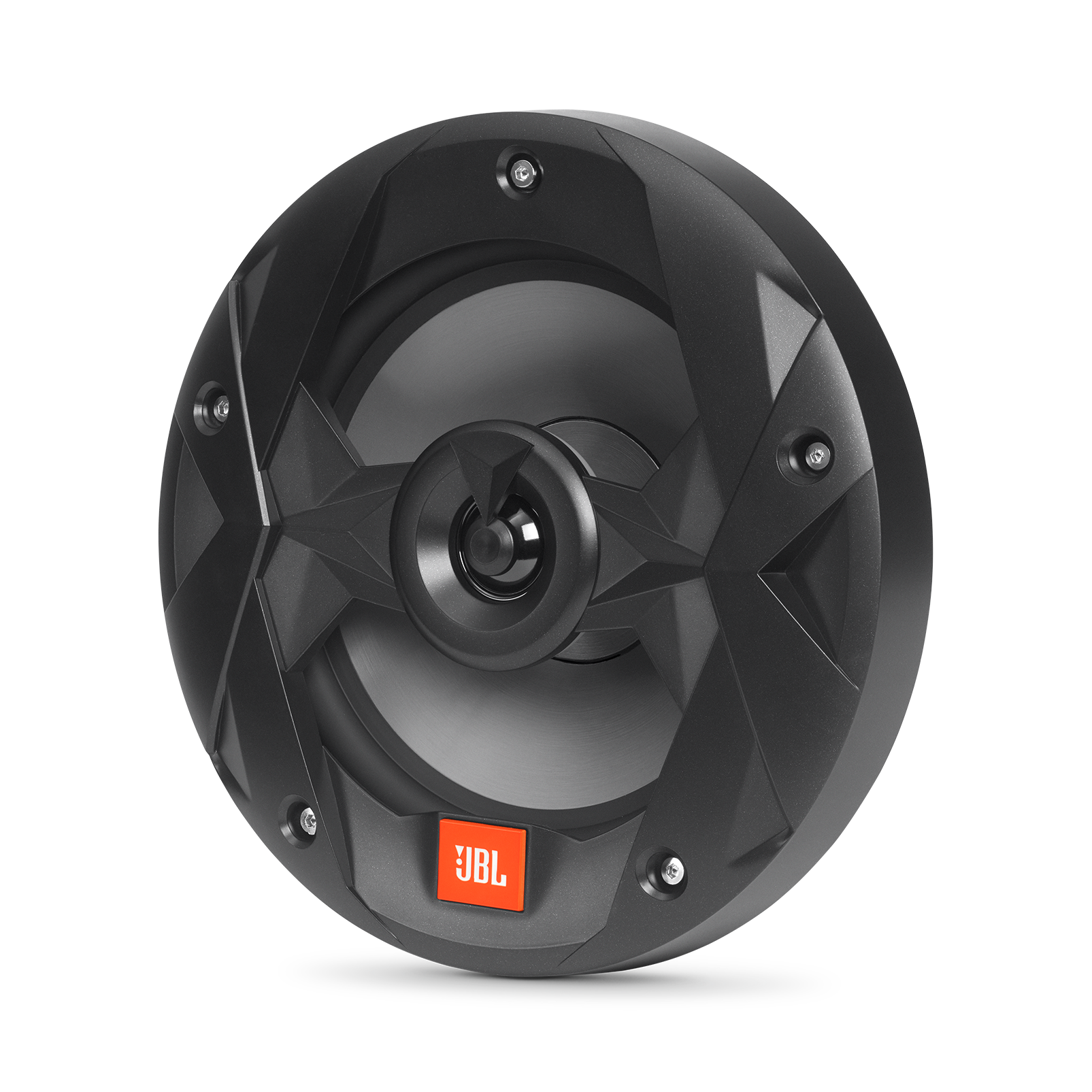 "Club Marine MS8B - Black Matte - Club Marine MS8B—8"" (200mm) two-way marine audio multi-element speaker – Black - Hero"