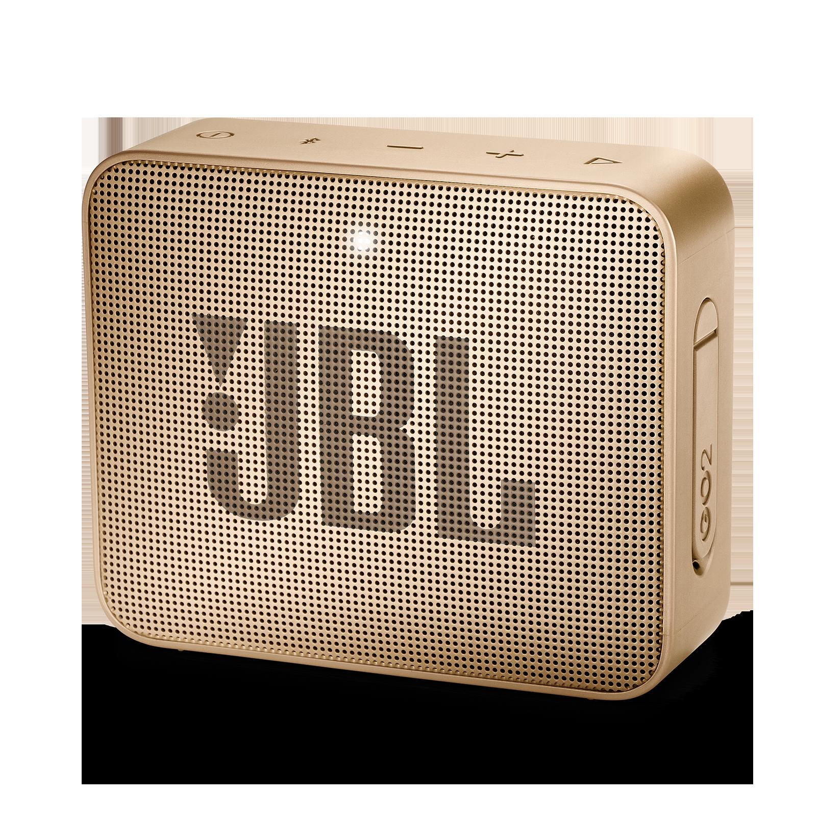 JBL GO 2 - Pearl Champagne - Portable Bluetooth speaker - Hero