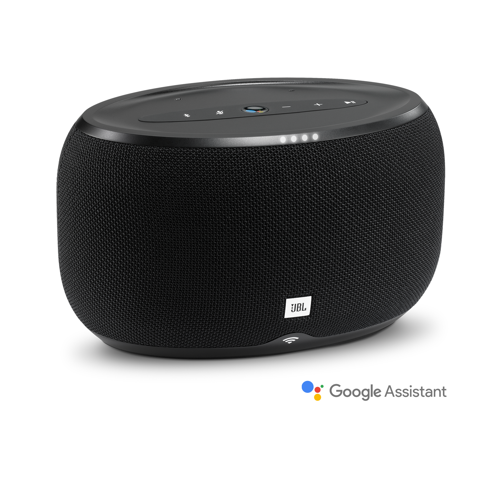 JBL Link 300 - Black - Voice-activated speaker - Hero