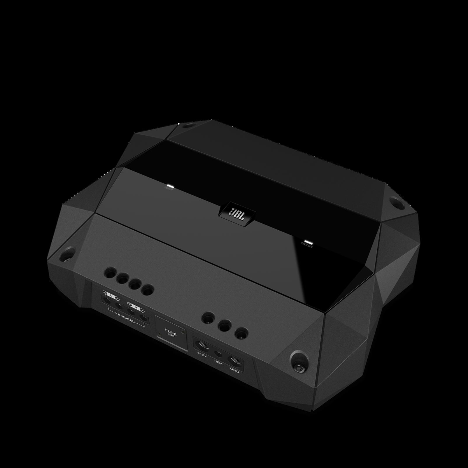Club 5501 - Black - high-performance mono car amplifier - Hero