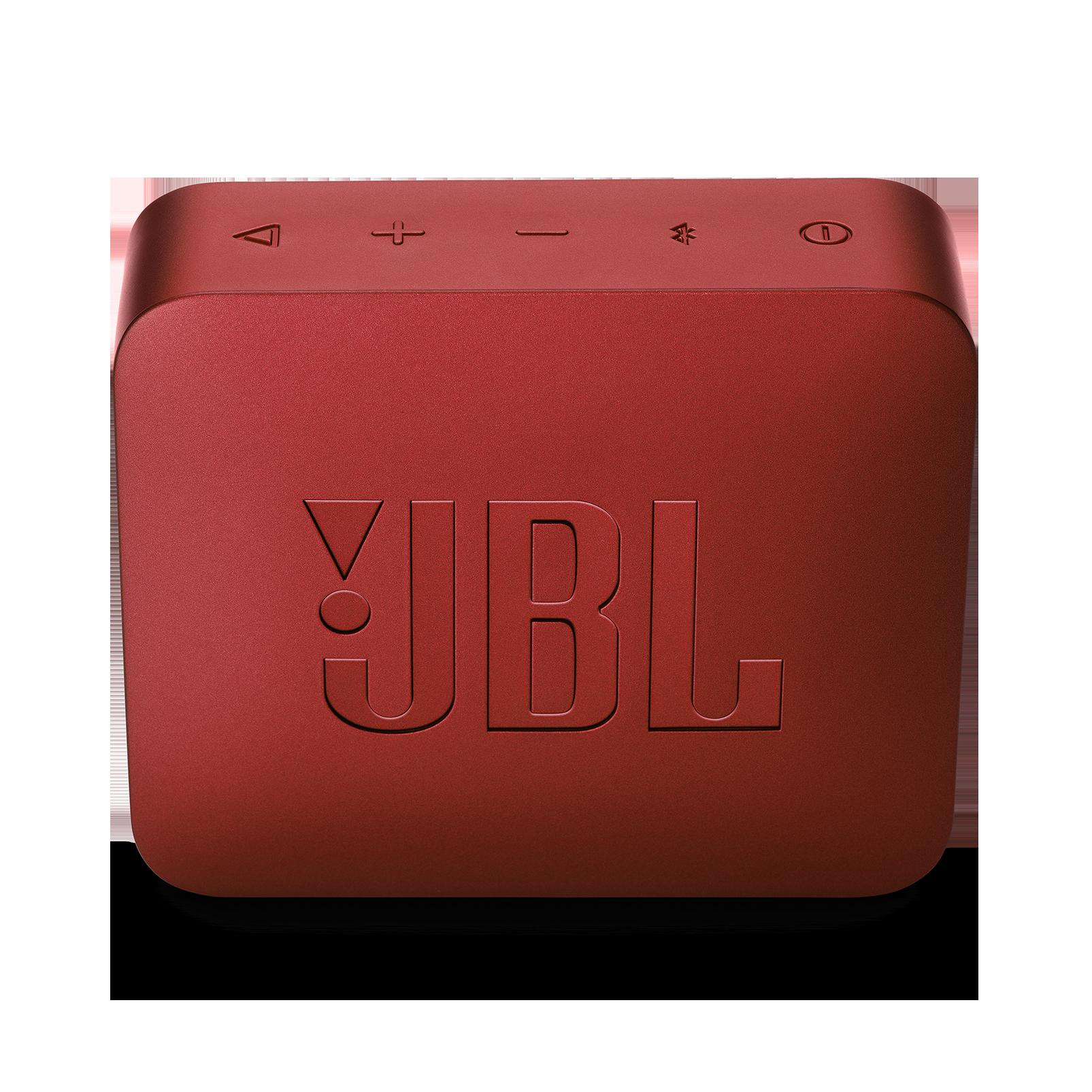 JBL GO 2 - Ruby Red - Portable Bluetooth speaker - Back