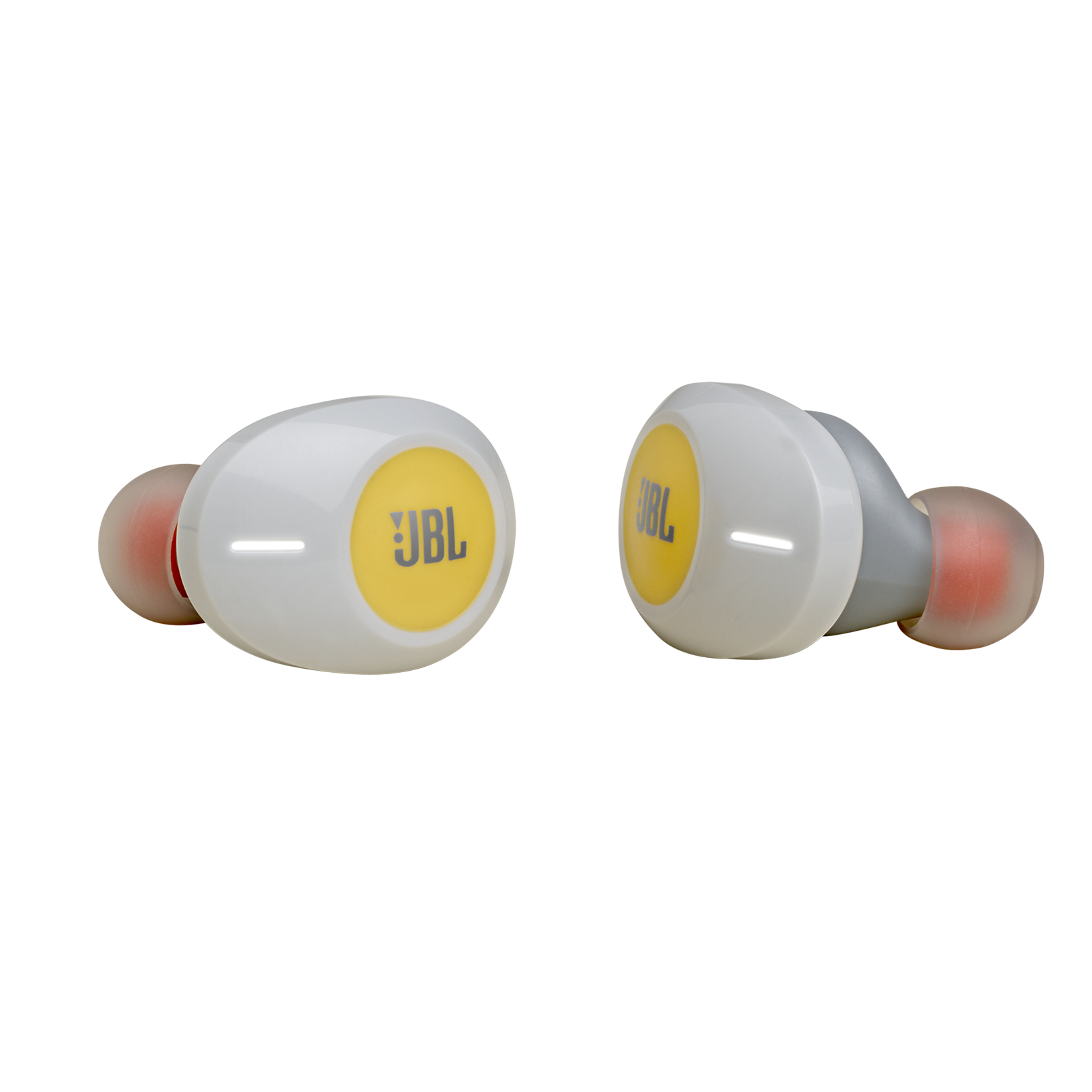 JBL TUNE 120TWS - Yellow - Truly wireless in-ear headphones. - Hero